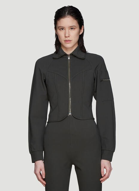 Atlein Cropped Zip Jacket