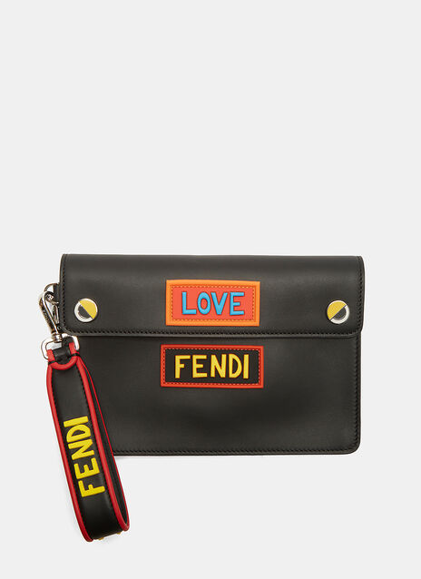 Love Eyes Clutch Bag