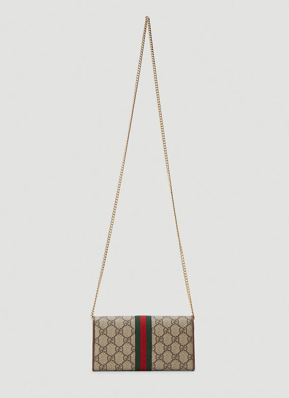 Gucci WALLET OPHIDIA WITH CHAIN 4