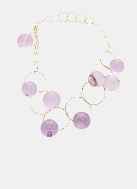 Sphere Ring Link Necklace
