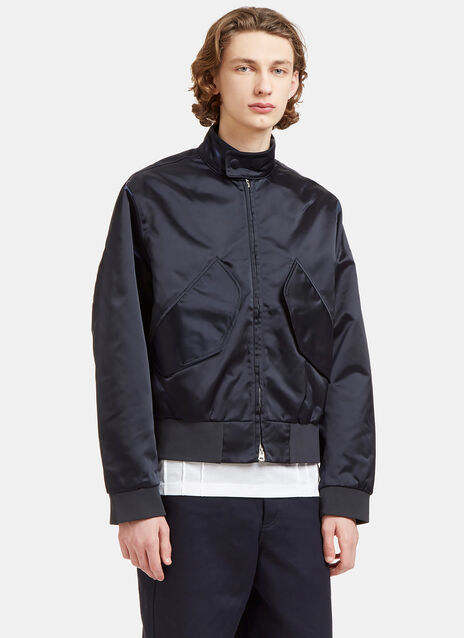 Mito Technical Satin Patch Pocket Jacket