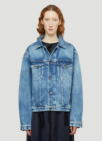 메종 마르지엘라 Maison Margiela Denim Jacket in Blue
