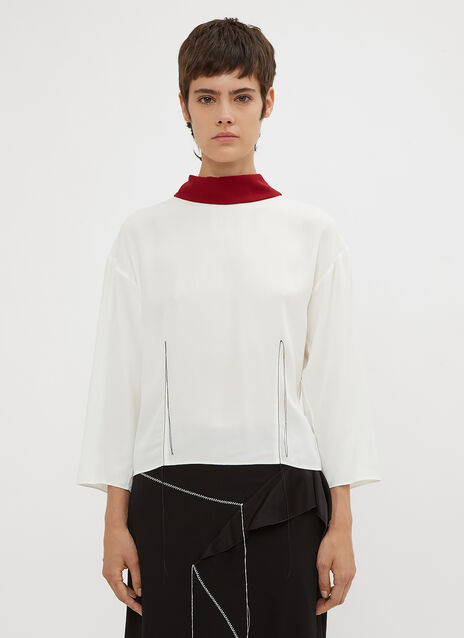 Marni Stitch Collar Shirt