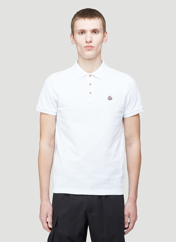 Moncler Short Sleeved Polo Shirt 1