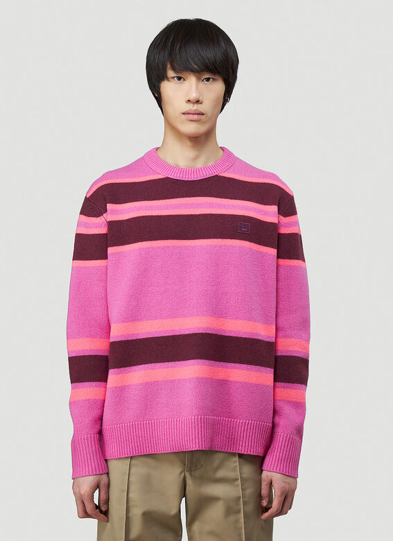 Acne Studios Striped Knit Sweater 1