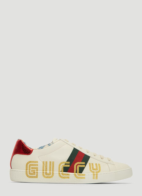 Gucci Ace Guccy Glitter Sneakers