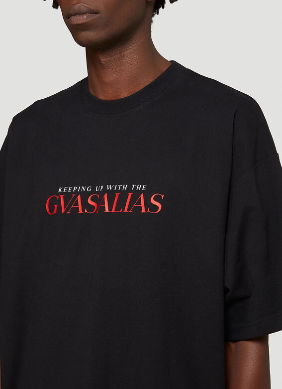 Vetements KEEPING UP WITH THE GVASALIAS / AFTER T-SHIRT 5