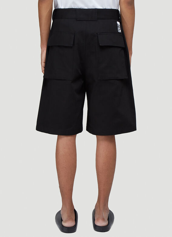 Jil Sander+ TROUSER 07 WORKWEAR SHORTS - RAW COTTON HERRINGBONE PLUS 4