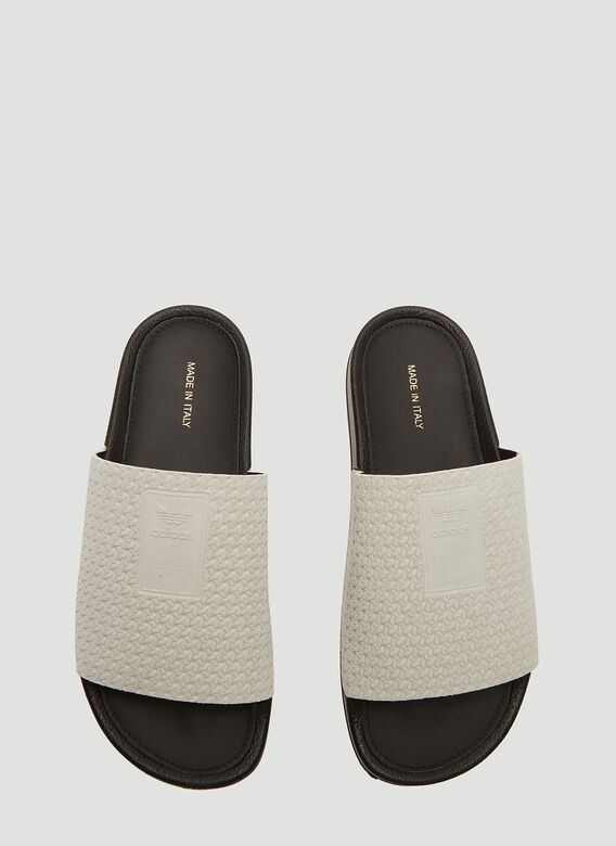 82d611e2c Adidas Adilette Luxe Slides in Grey