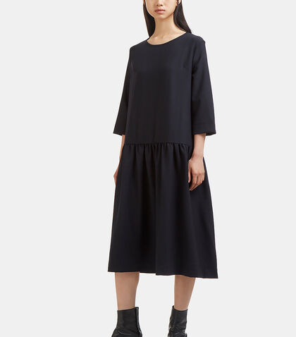 Oversized Dropped Waist Dress