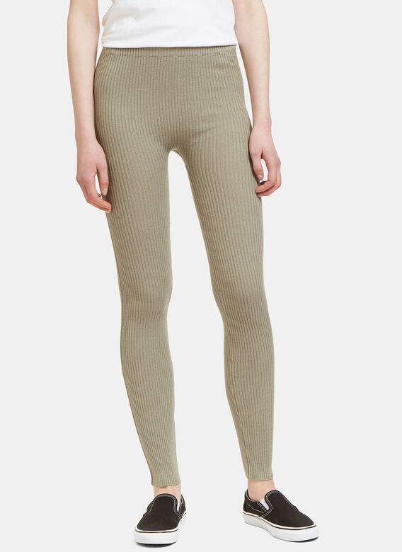 reliable quality new collection prevalent Lauren Manoogian Ribbed Knit Leggings | LN-CC