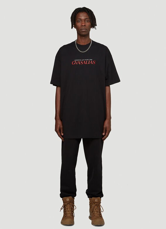 Vetements KEEPING UP WITH THE GVASALIAS / AFTER T-SHIRT 2