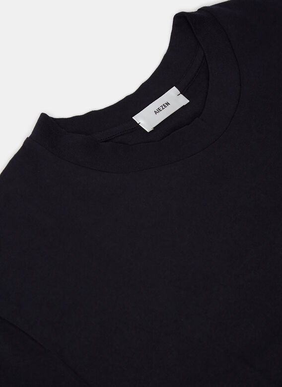 Aiezen AIEZEN Soft Cotton Crew Neck T-shirt 5