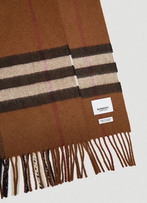 Burberry Check Scarf 4