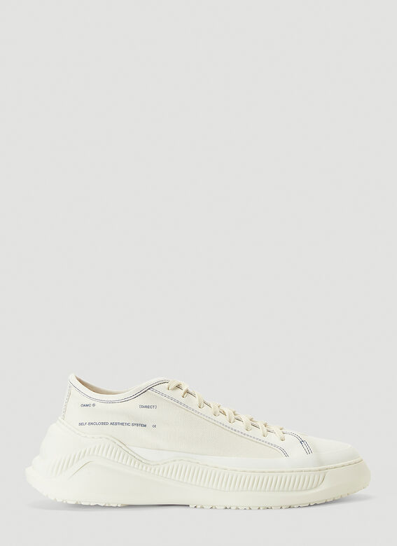 Oamc Free Solo Sneakers in White