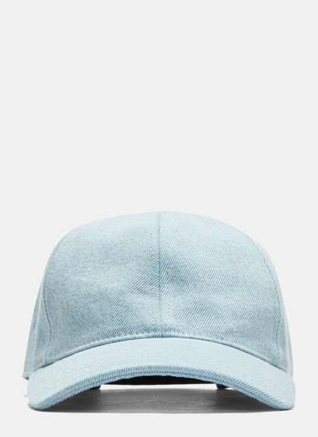 Ami Six Panel Denim Casquette Cap