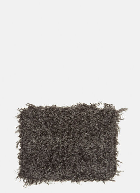 Eckhaus Latta Hairy Textured Snood