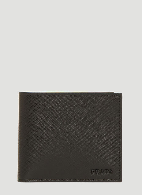 Prada Saffiano Leather Bi-Fold Wallet
