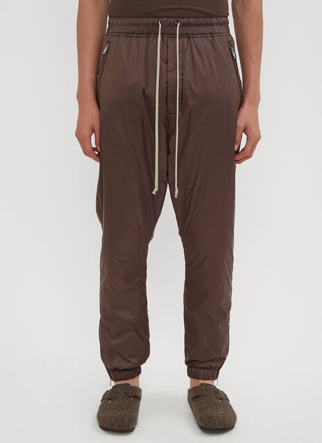 Rick Owens Astaires Drawstring Track Pants