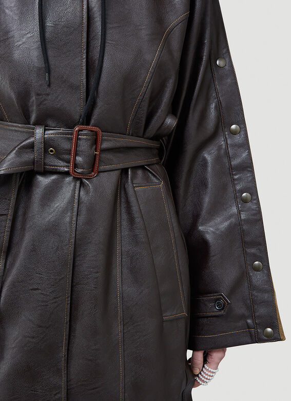 Y/Project SNAP TRENCH COAT 6