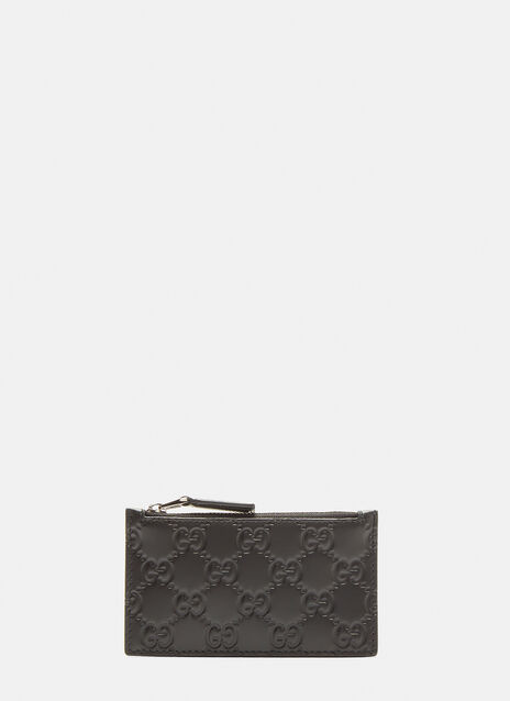 Gucci GG Zipped Card Case
