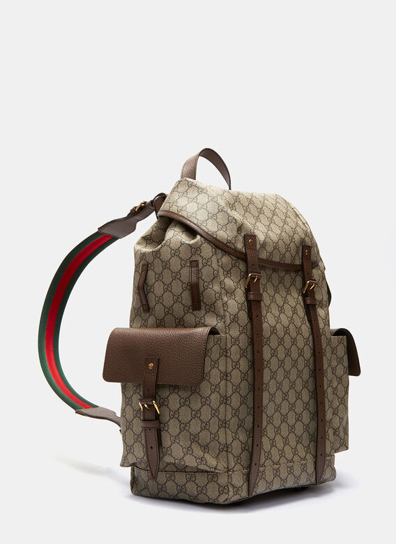 Gucci Neo Vintage GG Supreme Print Backpack