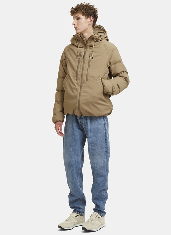 F/CE Hooded Padded Bomber Jacket