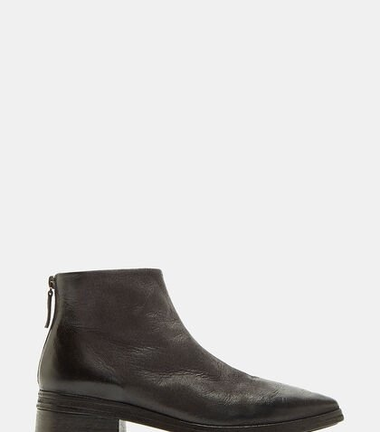 Listone Neve Leather Ankle Boots