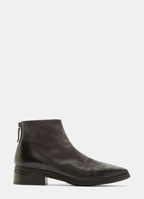 Marsèll Listone Neve Leather Ankle Boots