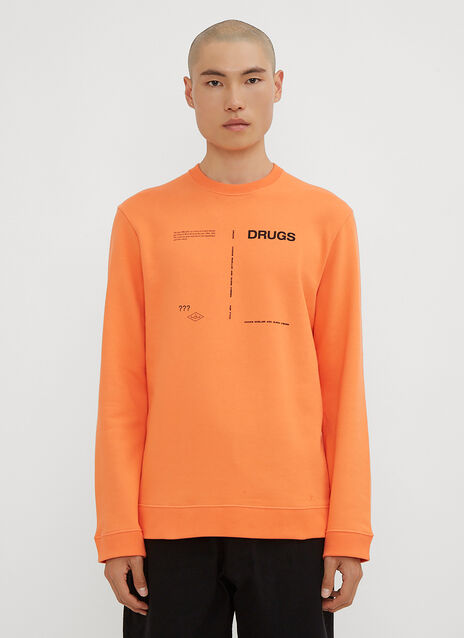 Raf Simons Drugs Crew Neck Sweatshirt