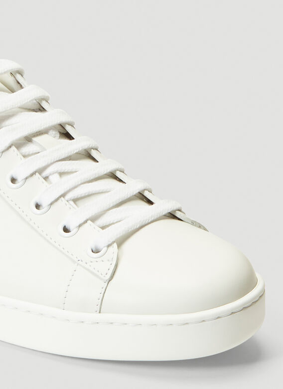 Gucci Ace Leather Sneakers 5