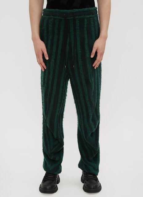 Hours Striped Texture Track Pants