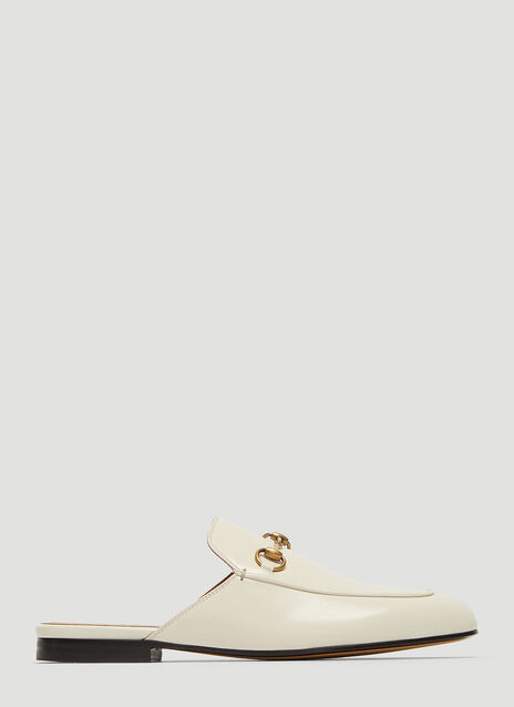 Gucci Princetown Leather Backless Mules
