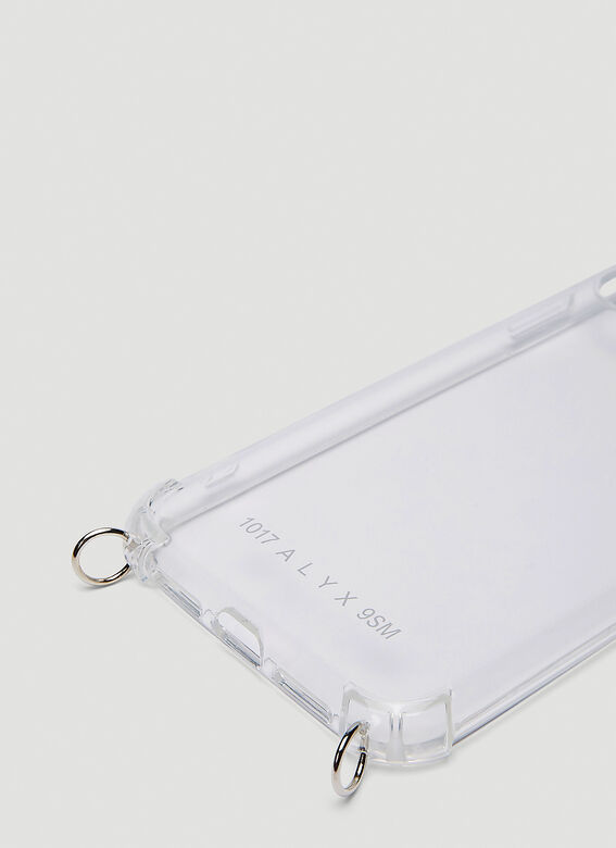 ALYX Phone cases iPhone 11 Chain Case in Silver
