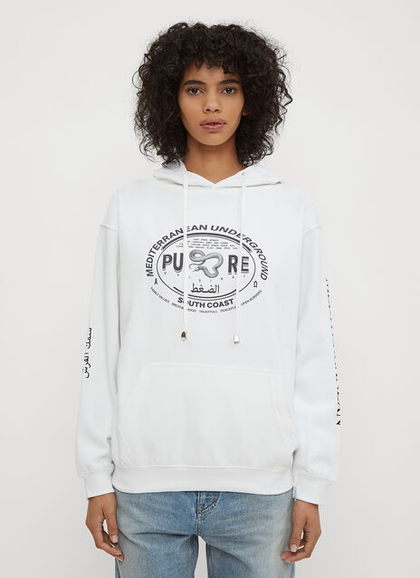 Pressure Mediterranean Family Hooded Sweatshirt