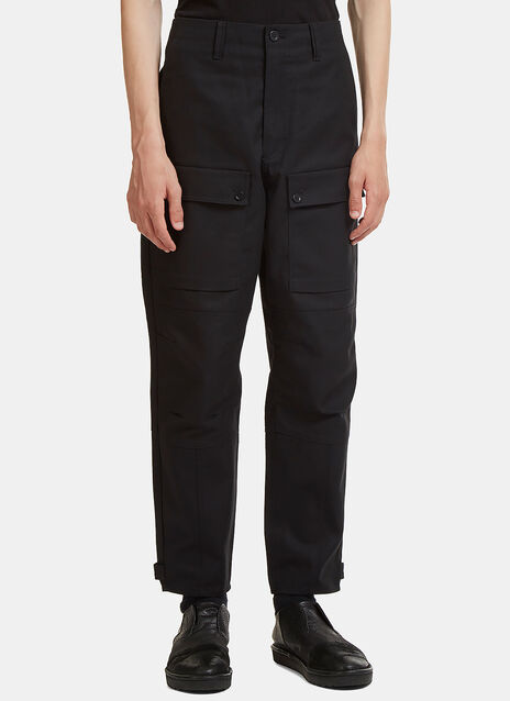 Abbi Twill Cargo Pocket Pants