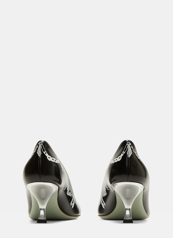 Marni Painted Leather Pump