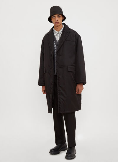 Prada Nylon Double Layer Coat