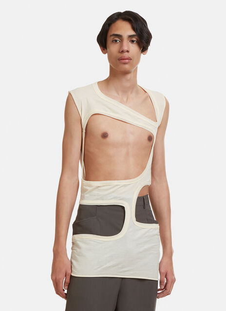 Rick Owens Long Holes Vest