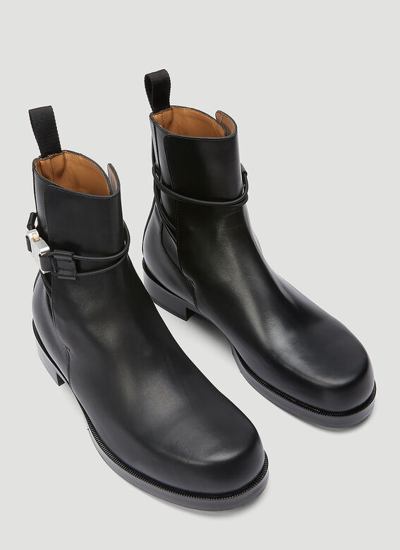 1017 ALYX 9SM LOW BUCKLE BOOT WITH LEATHER SOLE 2