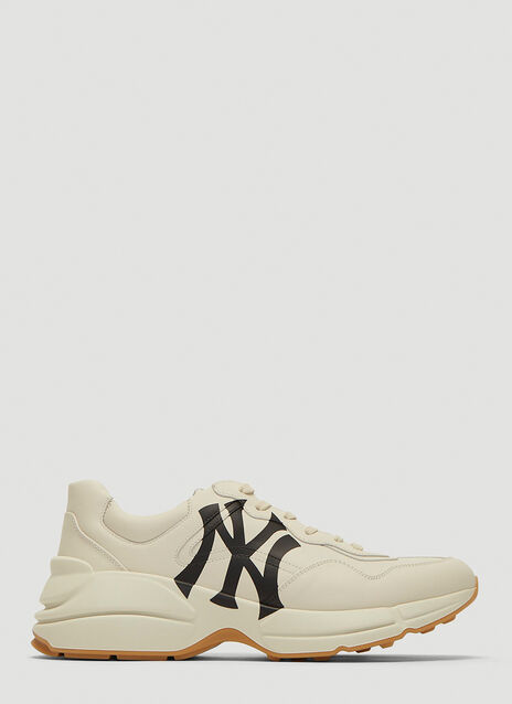 Gucci Rhyton Sneaker with NY Yankees™ Print