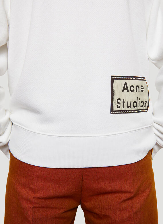 Acne Studios ACNE FORRES REVERS LABEL HD SWEAT 5