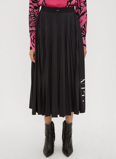 Valentino VLTN Pleated Skirt