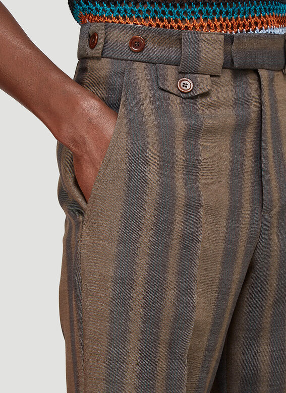 Wales Bonner ISAACS TAILORED TROUSERS 5