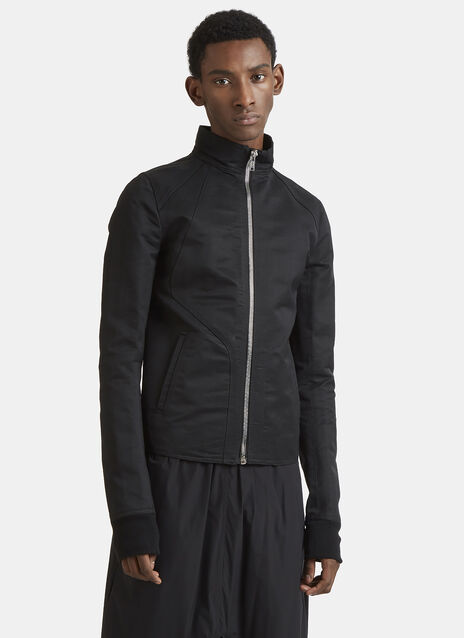 Rick Owens Funnel Neck Jacket