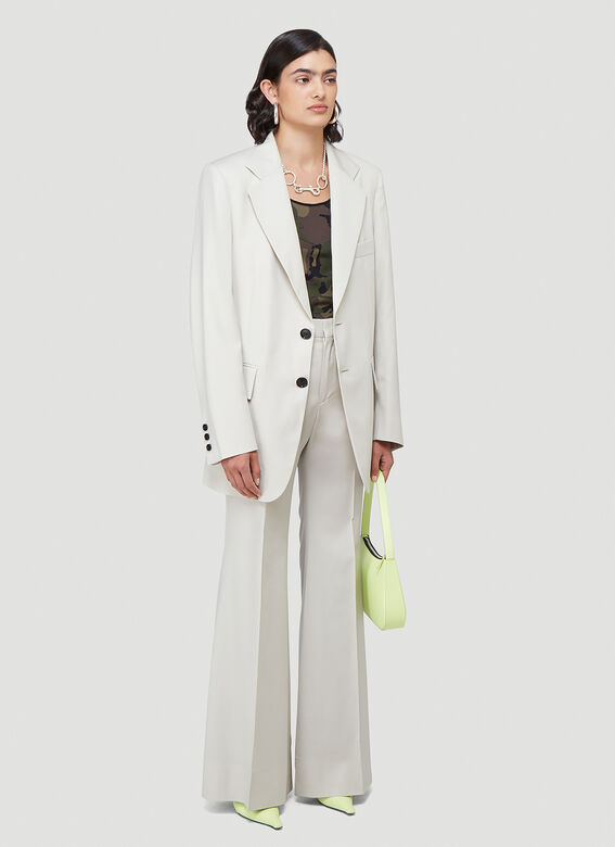 Kwaidan Editions FLARED SUIT TROUSERS 2