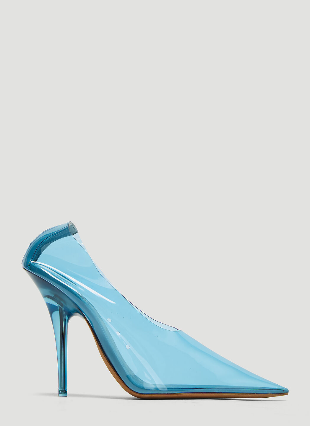 Yeezy PVC Pumps in Blue