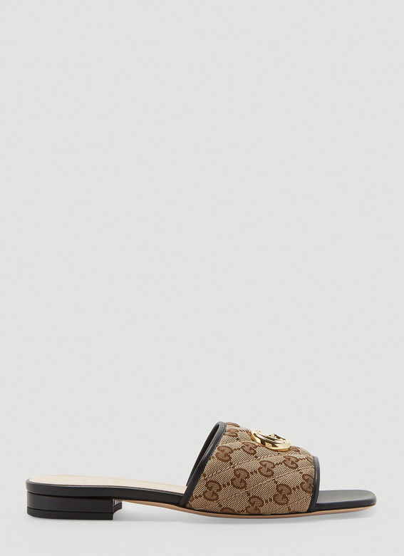 Gucci GG SLIDES OPEN TOES SANDAL 1