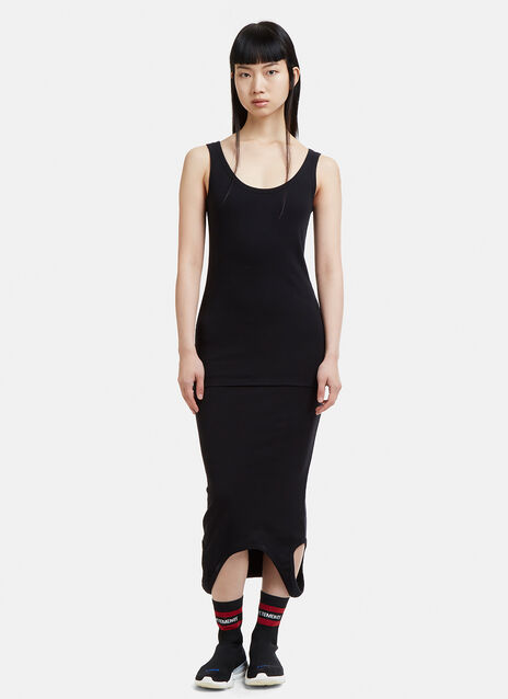 Vetements Double Ended Tank Top Dress