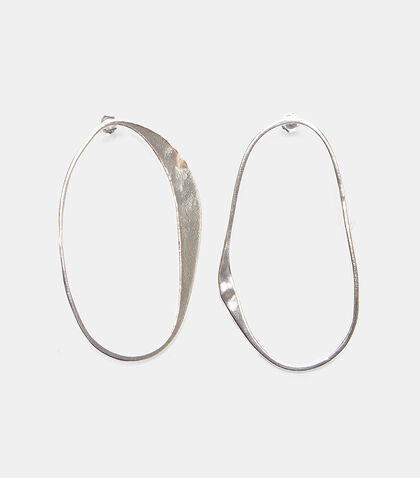 X Simon Miller Arp Abstract Hoop Earrings